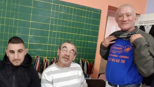 Cedric Jean-Paul et Arnaud